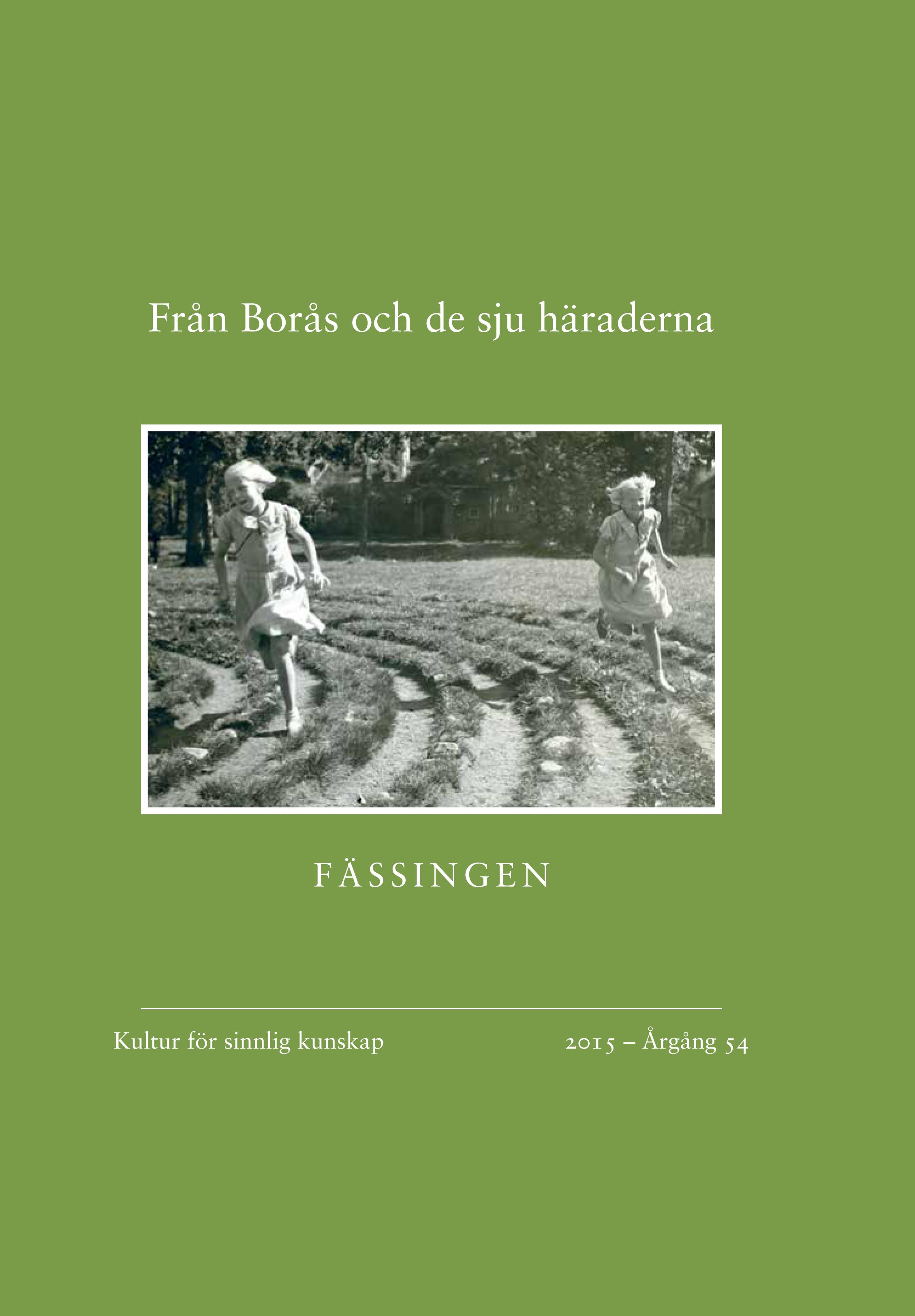 Bild omslaget Fässingen